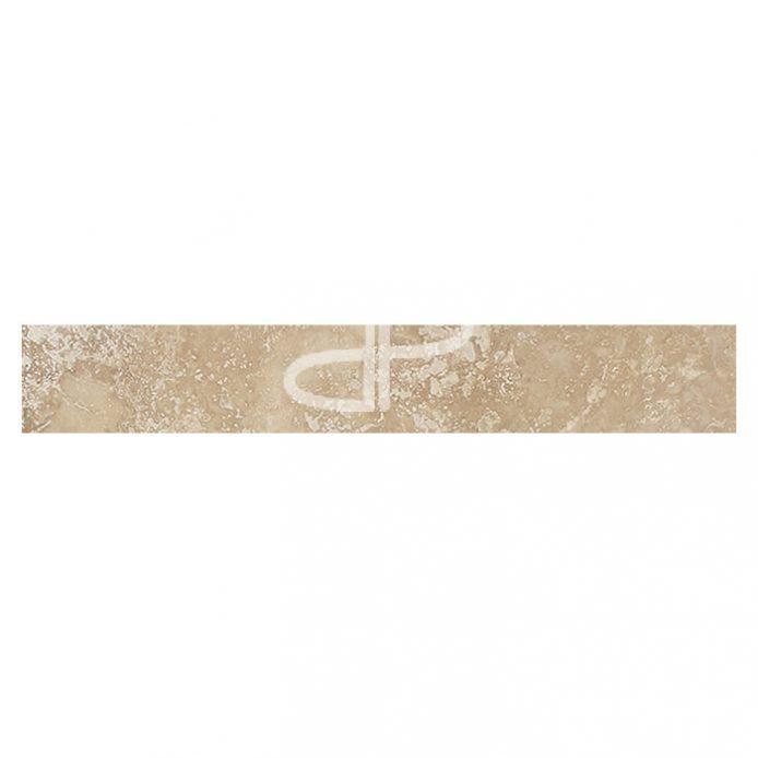 Plinthe Travertin 40,6 x 7 x 1,2cm 1er choix Nuancé