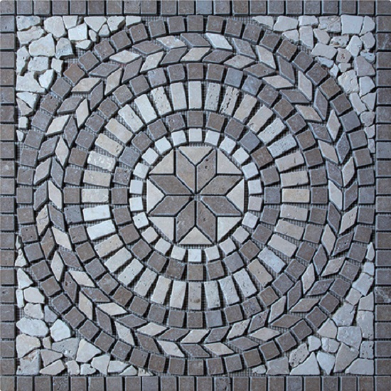 travertin rosace
